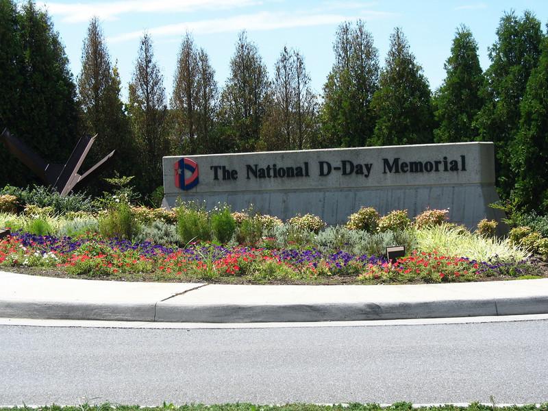 D-Day Memorial Entrance