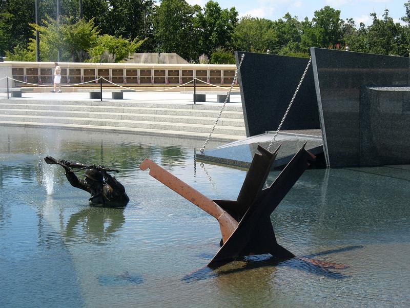 "Landing Memorial - ""Through the Surf"""