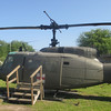 <b><i>Vietnam Support Base</i></b> - Another Huey you can climb inside...  Bell UH-1 Iroquois (Huey) (ca. 1959-2005)  <b>General Characteristics</b>  <b>Crew:</b> 1-4 <b>Length:</b> 42 ft 7 in <b>Rotor Diameter:</b> 57 ft 1 in <b>Maximum speed:</b> 148 mph <b>Range:</b> 315 mi <b>Service ceiling:</b> 19,390 ft <b>Armament:</b> 2 x 7.62 mm M60 machine gun, <i>or</i> 2 7.62 mm GAU-17/A machine gun;  2 x 7-round or 19-round 2.75 in (70 mm) rocket pods