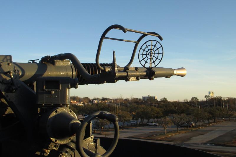 40mm Swedish Bofors Quadruple Antiaircraft Gun