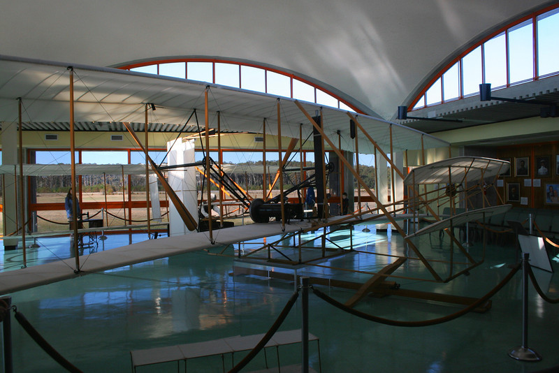 Another angle of the Wright Flyer...