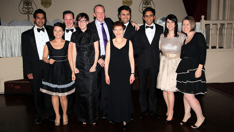 Ray D'Cruz, Jing Leong, Daniel Clough, ?, Michael Smith, Sue Heistein, Ravi Dutta, Sashi Balaraman, ?, Kylie Lane