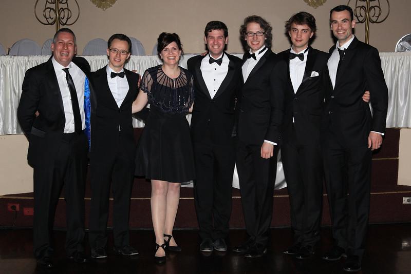 Ben Richards, Tim Sonnerich, Kim Little, Amit Golder, Victor Finkel, Chris Bisset, Dan Celm