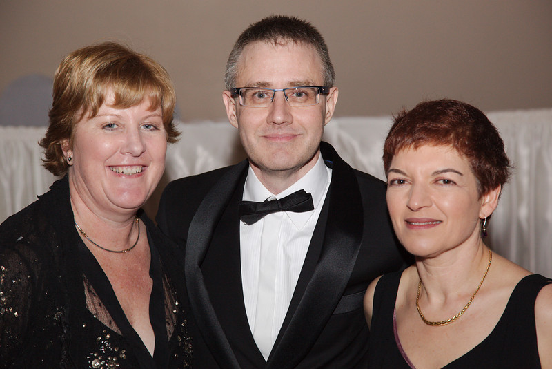 Anne Dalton (President 1982), Tony Holmes (President 1986, Life Member 1987), Sue Heistein (Treasurer 1980)