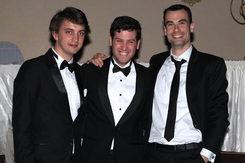 Chris Bisset, Amit Golder, Dan Celm