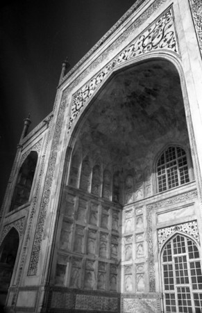 Back of the Taj alot like the front.