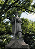 """Statue of Civil War soldier.  Part of a Civil War Memorial erected in 1897.<br /> <br /> I have seen several statues of Civil War soldiers in S.E. Michigan.  They all look very similar, if not identical.  It is possible that such statues were more or less mass produced in the second half of the 19th century, for use in Civil War monuments and memorials, and that most were made by one, or a small number of companies.<br /> <br /> For a picture of a similar statue in Dexter, Michigan, see:<br /> <br />  <a href=""""http://arctangent.smugmug.com/gallery/5329713_SGhCx#370000791_dCqbz"""">http://arctangent.smugmug.com/gallery/5329713_SGhCx#370000791_dCqbz</a><br /> <br /> Oak Grove Cemetery, Chelsea, Michigan"""