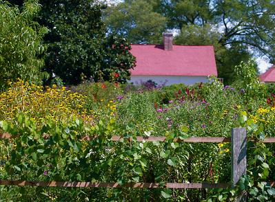 Virginia. Mount Vernon. Garden.