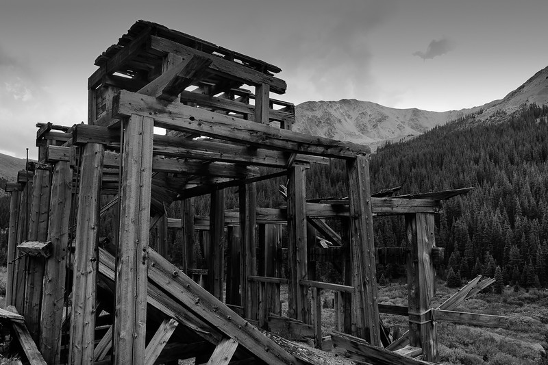 """Farwell Stamp Mill"" Ghost Town of Independence, CO"