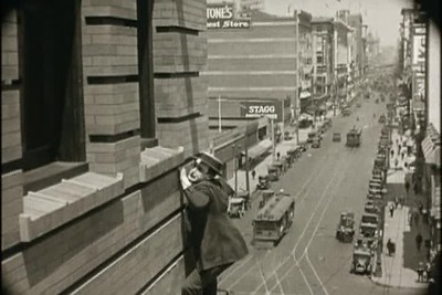 1923, Safety Last - Downtown Landscape