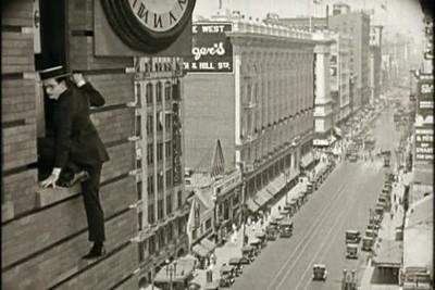 1923, SafetyLast-BoltonBuildingClockHanging