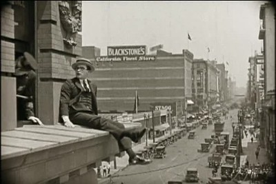1923, Safety Last - Bolton Building 2nd & 3rd Floors