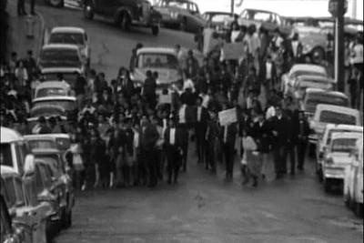 1968, Walkout - News Reel B&W