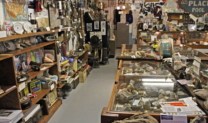 Another view of the museum collection.