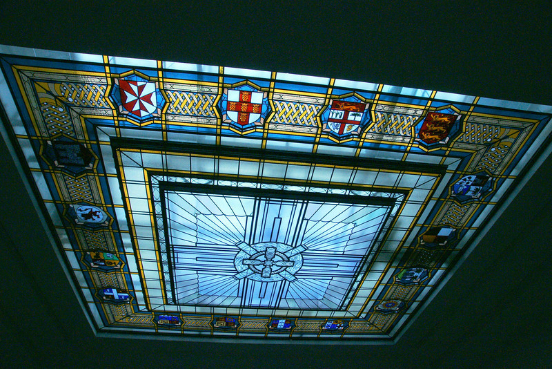 Auckland Museum window.