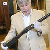 Local Historian Mark Bodanza talks about a Brown Bess Musket from around 1775 that was owned by Josiah Hayward a resident of Acton. They are looking into rumors that it may come from Fort Ticonderoga New York. SENTINEL & ENTERPRISE/JOHN LOVE