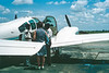Loading the Beech Baron
