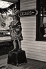 <center>Cigar Store Indian  <br>Talk about stereotypes!  This one just begged for a black and white effect. <br><br>Mystic Seaport - 18 December, 2011<br>SNE Spur of the Moment Meetup Group</center>
