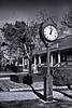 <center>Standing Clock  <br>I love these sidewalk clocks.  They recall a simpler time, and I enjoy doing them in black and white. <br><br>Mystic Seaport - 18 December, 2011<br>SNE Spur of the Moment Meetup Group</center>