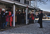 <center>Carolers  <br>It would have been much better had they appeared in 19th century garb.  Still, I opted to do this as a painting.  Who knows, in 100 years this may look like an historic scene. <br><br>Mystic Seaport - 18 December, 2011<br>SNE Spur of the Moment Meetup Group</center>