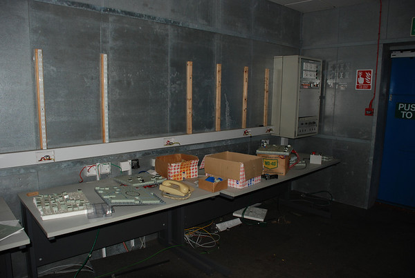 Inside the control rooms