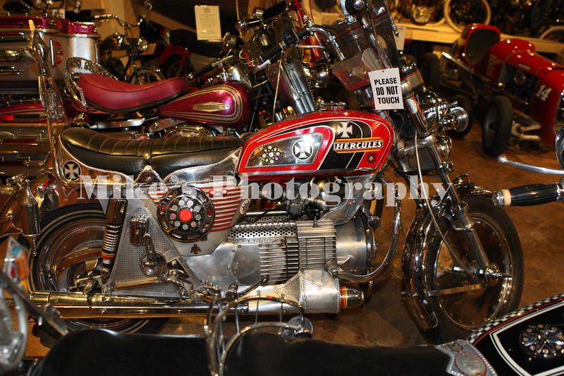 Hercules rotary engine