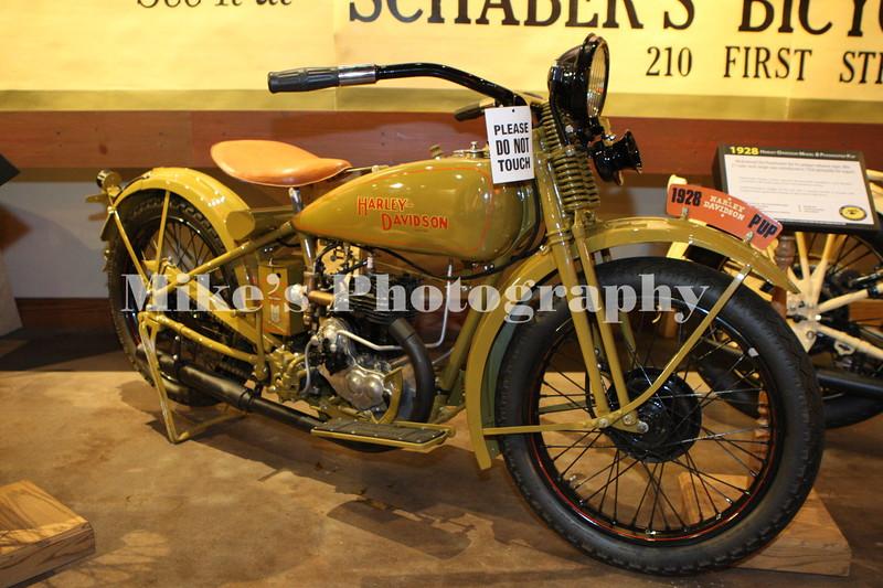 1928 Harley Davidson Pup