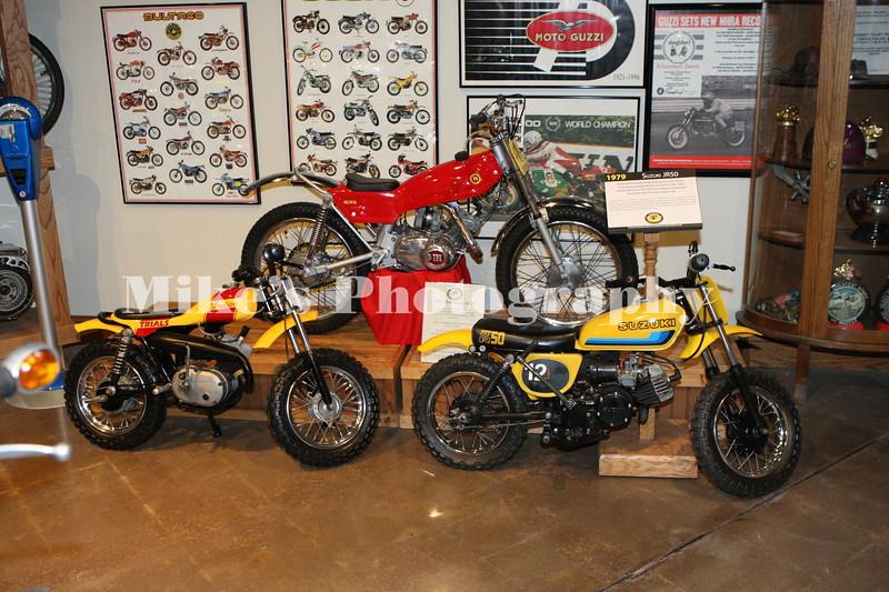 1979 Suzuki JR80, Indian 50 and a Montesa
