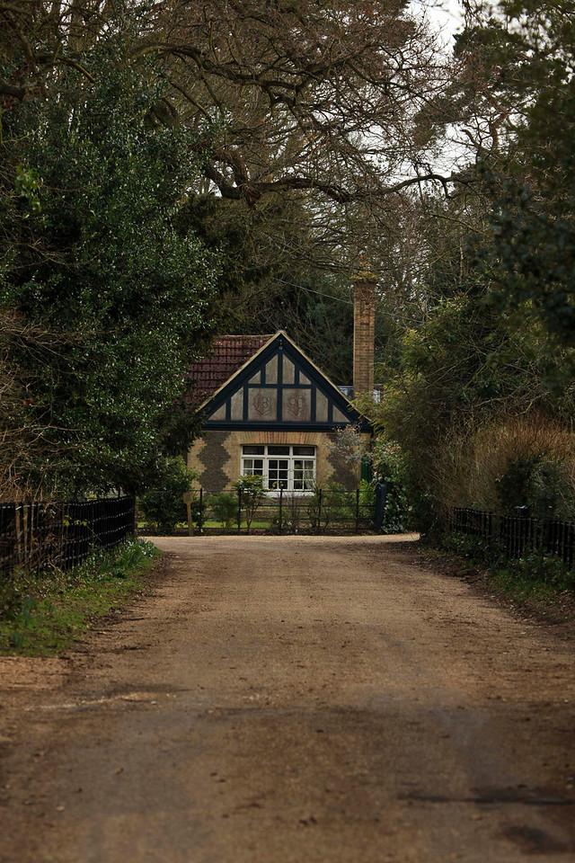 sandringham - cottage on grounds