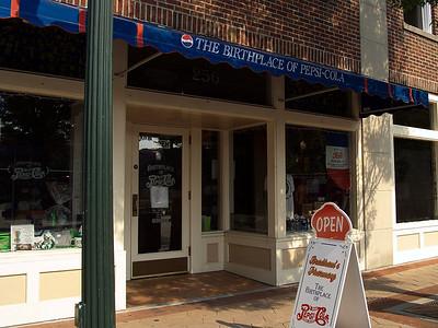 Bradham's Pharmacy - the birthplace of Pepsi Cola