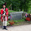 Grave of two British Red Coats killed April, 17, 1775. Battle of Concord, Concord, Mass