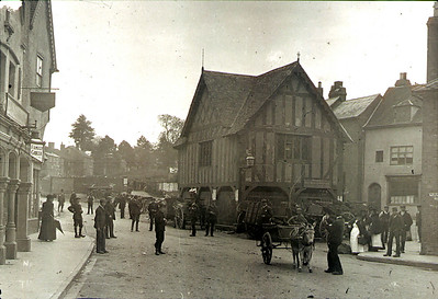 Market day in Newent
