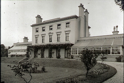 The Holts House, in the early 60's this house was demolished and a housing estate was built in its place. The current library & Police station also sit where the lawns used to be.