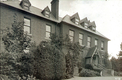 Once the Rectory this became council offices and a library for a time.