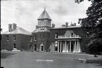 Newent Court was the residance that sat on the Newent Lake property. It was badly destroyed by fire then fell into dissrepair eventually getting knocked down. Today the lakeside housing estate sits in this area.