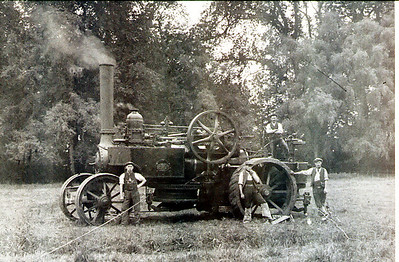 Old SteamTraction Engine
