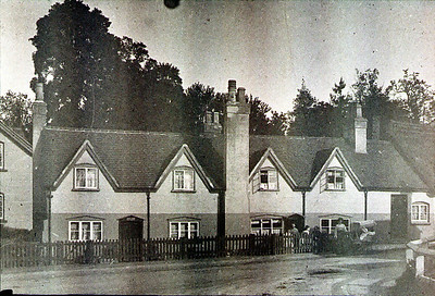 These houses were at the bottom of Station road where the fire station is now located.
