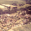Allotments bottom right with Holts Toad, old Newent school center.