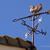 Weathervane on top of the barn at the Newland House Museum, Huntington Beach, CA