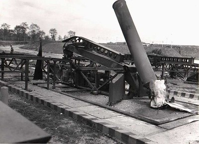 Remains of a booster.  22 May 1958.