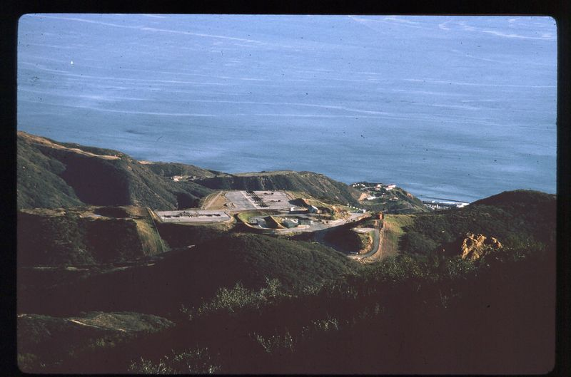 LA-78 Malibu Site - Launching Area from the Fire Control Area - Aug 1966