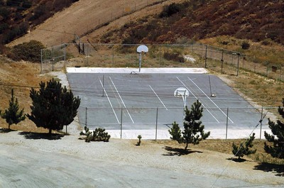 LA-78 Malibu Site - Admin Area - Tennis and Basketball Court