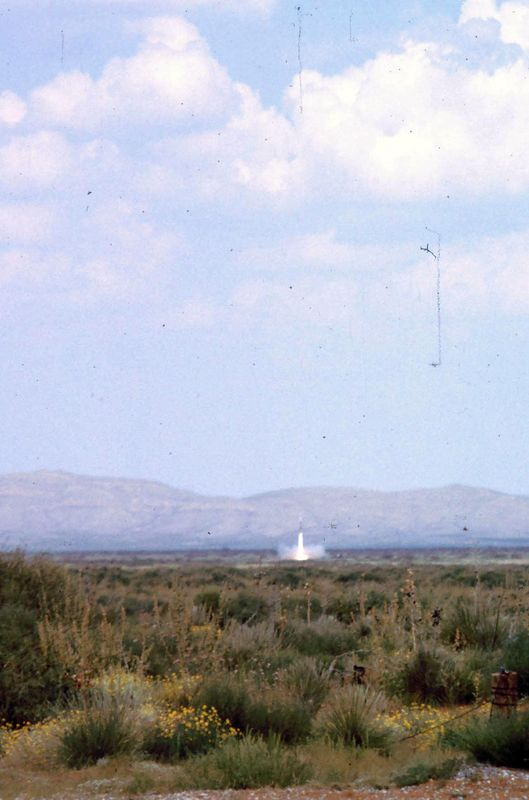 Nike-Hercules firing at McGregor Range - SNAP - Sep 1966