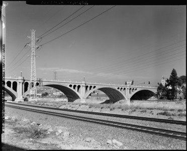 1999, Southside of North Broadway Bridge Panorama 2