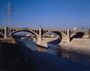 1999, Southside of North Broadway Bridge