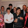 7. John's extended family, and his newly-born great-grandson Carter.