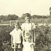 13. Little Bill and Lee, Jr. with baby Janet, about 1941.