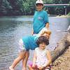16. Jeremiah, Jennifer and Bailey, about 1990.