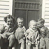 17. Janet, Eloise, Becky, Russell and John, about 1944.