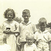 4. Betty, Lee, Jr, Bill and John Clinton in front. about 1941
